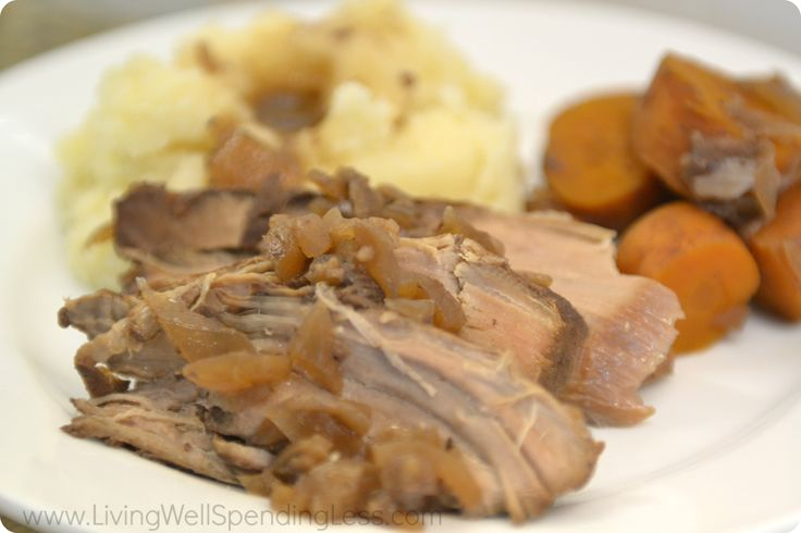 Slow Cooked Pork Tenderloin | How to Make Crock Pot Pork Tenderloin