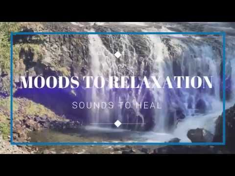 Calming waterfall sounds to relax  to  2HR
