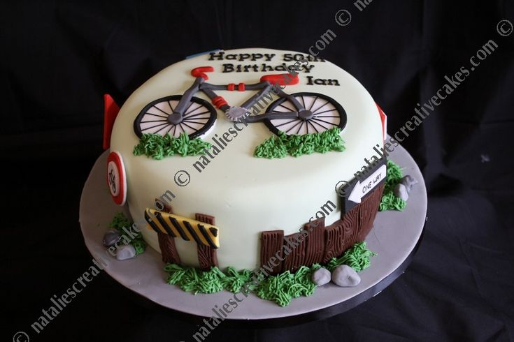 cyclist cake | Natalies Creative Cakes - Sporting Themes
