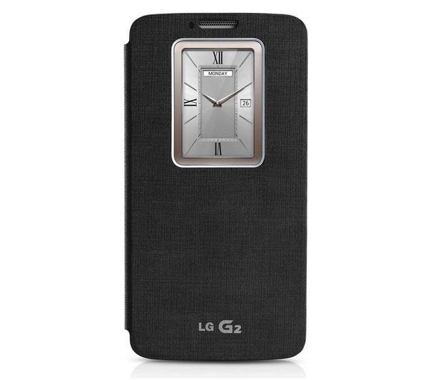 QuickWindow - nero - Custodia per telefono cellulare LG G2