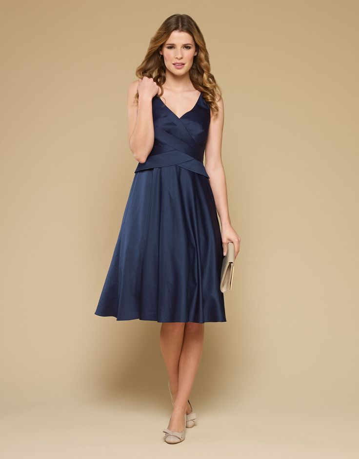 Bonnie Dress Navy Monsoon The Wing Ding Wedding