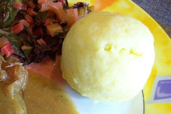 Gekochte Kartoffelklöße nach Johann Lafer - l