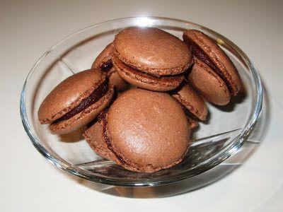 En verden af smag!: Macaroons med Chokoladeganache