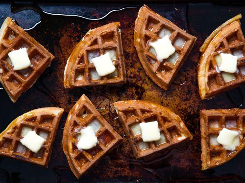 Buttermilk Vanilla WafflesReally nice recipes. Every hour.Show  Mein Blog: Alles rund um die Themen Genuss & Geschmack  Kochen Backen Braten Vorspeisen Hauptgerichte und Desserts # Hashtag