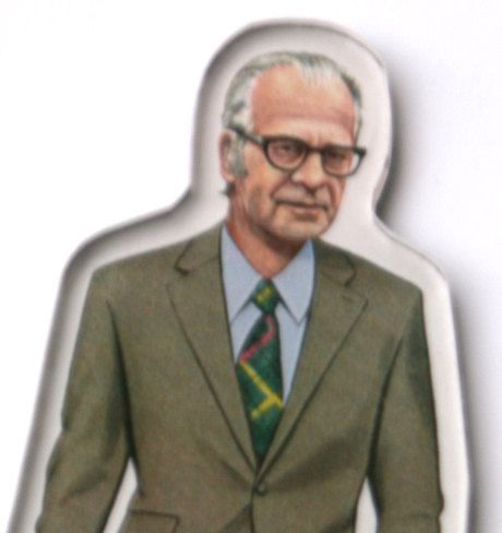 Burrhus Frederic Skinner Magnet by SigmundFreud on Etsy, $5.00