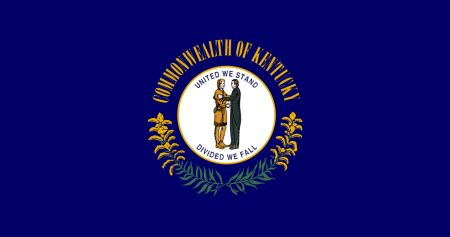 Free Kentucky flag graphics, vectors, and printable PDF files. Get the free downloads at http://flaglane.com/download/kentucky-flag/