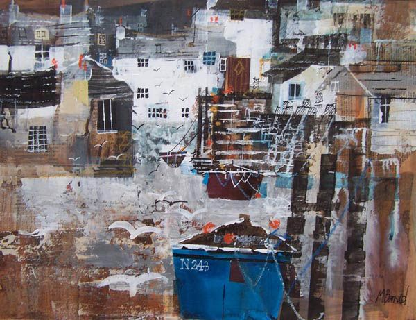 HARBOUR COTTAGES, CORNWALL 15X19.5 INS
