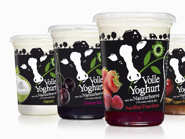 Pays-Bas Yoghurts #tub #packaging