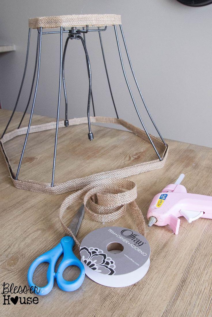 Joanna Gaines Inspired Industrial Farmhouse Lamp {February Pinterest Challenge} - Bless'er House