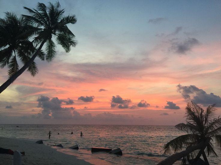 A soft one on Maafushi island