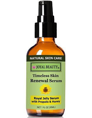 #1 Best Royal Jelly Serum for Face by Joyal Beauty- Timeless Skin Renewal Serum.