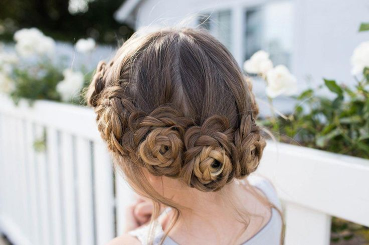 Flower Crown Braid | Cute Girls Hairstyles #bestbraidedhairstyles
