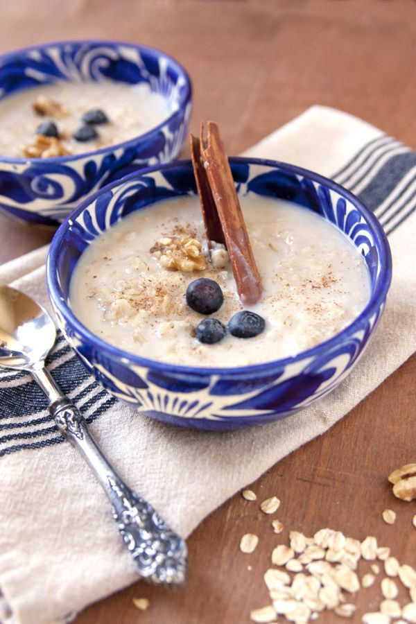 Old fashioned Mexican oatmeal (Avena)