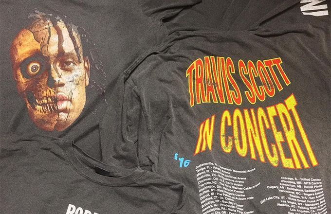 Preview Travis Scott's Newest Merch for the ANTI World Tour | Complex