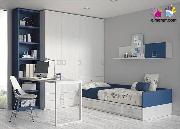#Habitación #Juvenil con #cama #nido.