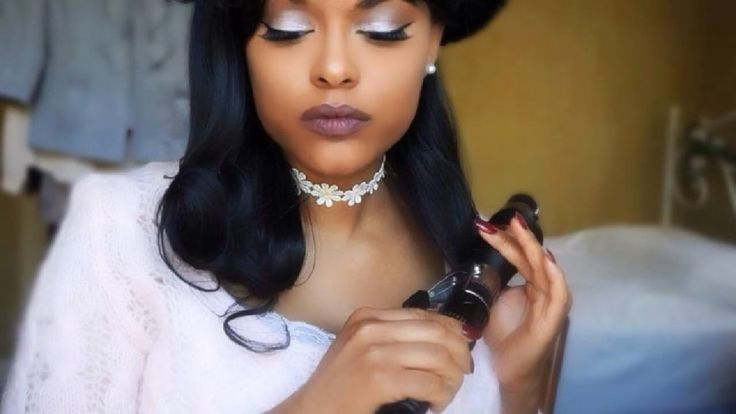 How To Curl Synthetic Hair With Heat! [Video] - http://community.blackhairinformation.com/video-gallery/weaves-and-wigs-videos/curl-synthetic-hair-heat-video/