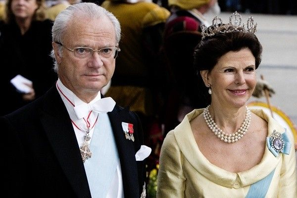 King Carl Gustaf and Queen Silvia of Sweden
