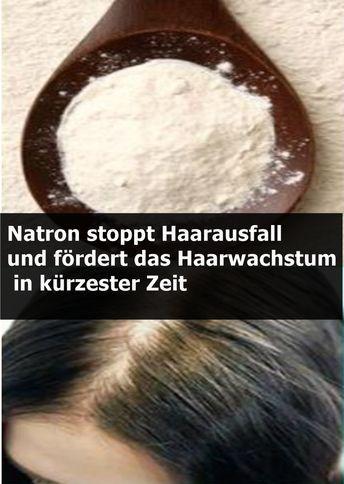 Soda stoppt Haarausfall und fördert das Haarwachstum in kürzester Zeit