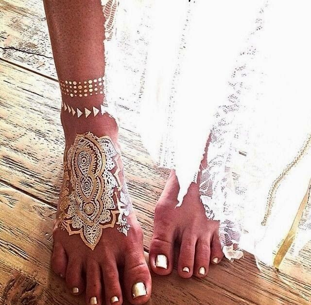 Fashion, Style And Beauty : Hippie's feet fashion