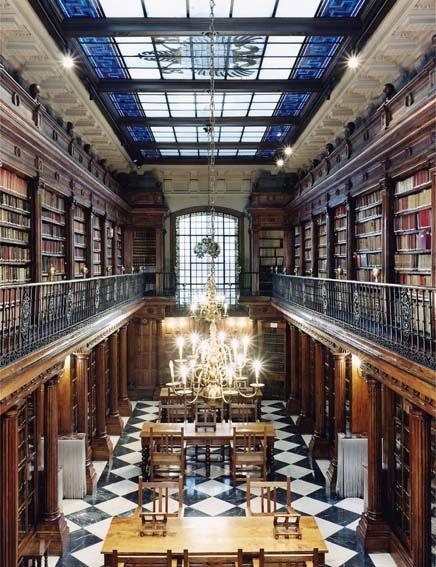 Menendez Pelayo Library, Santander, Spain