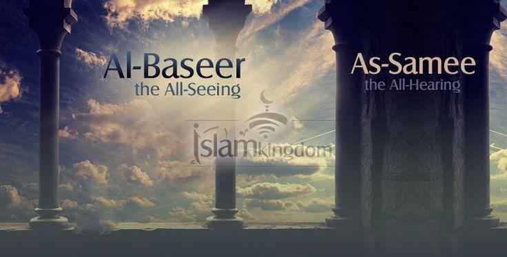 «#Слышащий, Видящий».. Он слышит ваши слова. Будьте осторожны! Он слышит ваши дуа. Так призывайте усердно вашего Господа! Он видит ваши дела, нет ничего тайного для Него. Так совершайте благодеяния, воистину #Аллах любит творящих добро! #имена Аллаха, #ислам