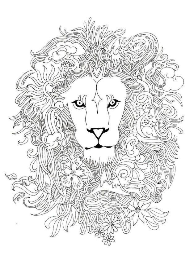Kleurplaten Mandala Leeuw.Kleurplaten Volwassenen16 Topkleurplaat Nl Coloring Pages