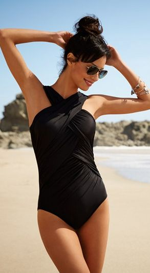finally, a Miraclesuit that's actually flattering!