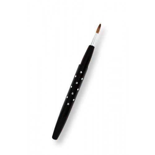 ΤοRoyal Retractable Diamante Lip Brush έχοντας υψηλής ποιότητας φυσική τρίχα, είναι κατάλληλο για την εφαρμογή κραγιόν και lip gloss. Η έξυπνη, retractable συσκευασία του, το καθιστά κατάλληλο για να το παίρνετε παντού μαζί σας!