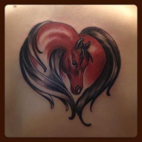 98 best horse tattoos images on pinterest. Black Bedroom Furniture Sets. Home Design Ideas