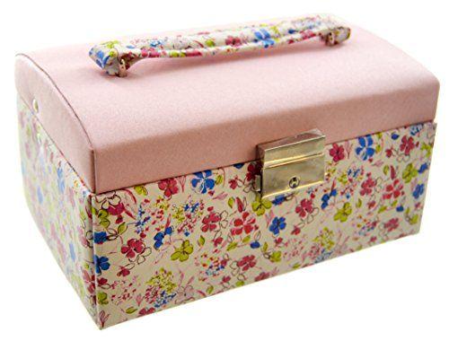 Sophia 18cm Square Jewellery Box Floral Pink Lid with Flower Widdop Bingham http://www.amazon.co.uk/gp/product/B015WMOEX4?m=A29GX2W8ECP6KW&ref_=aag_m_pw_dp