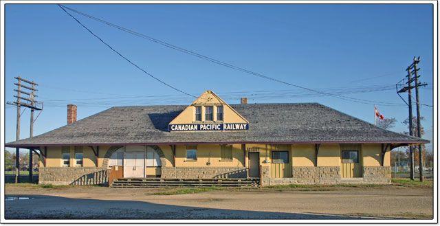 Portage la Prairie Canadian Pacific Railway Station