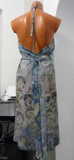 robe - tablier vue arrière