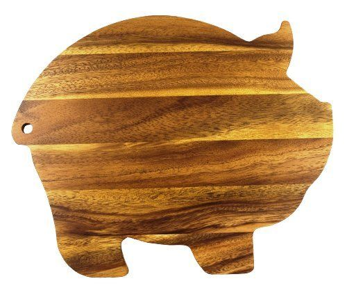 Ironwood Gourmet Pig Shaped 12-1/4-Inch by 10-Inch Cutting Board by Ironwood Gourmet, http://www.amazon.com/dp/B002R59GUG/ref=cm_sw_r_pi_dp_JY6Rrb15K40G4