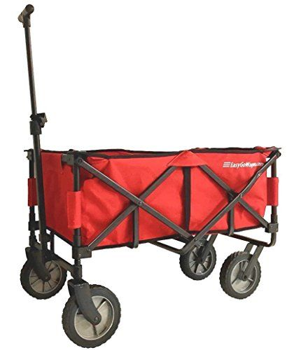 EasyGoWagon 20  Red Folding Wagon  Collapsible Heavy Duty Utility Pull Wagon  Fits in Trunk of Standard Car -- Check out this great product.Note:It is affiliate link to Amazon.