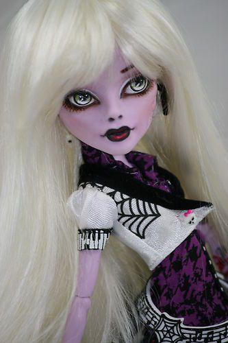 Monster High Operetta OOAK Repaint Topaz | eBay