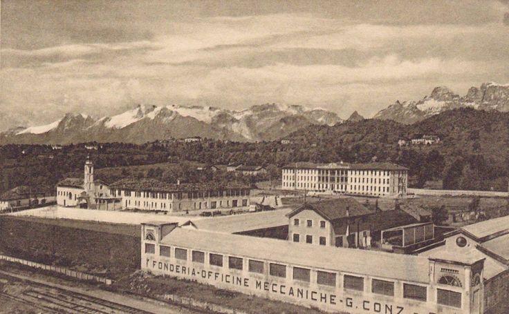Il Padiglione ospedaliero di San Gervasio Belluno Dolomiti Veneto Italia
