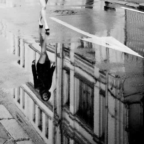 PuddlesPhotography Ideas Street, Puddle Photography, Streetphotography, Monochrome Photography, Inspiration Photography, Beautiful Photographers, Reflections, Black, Street Photography
