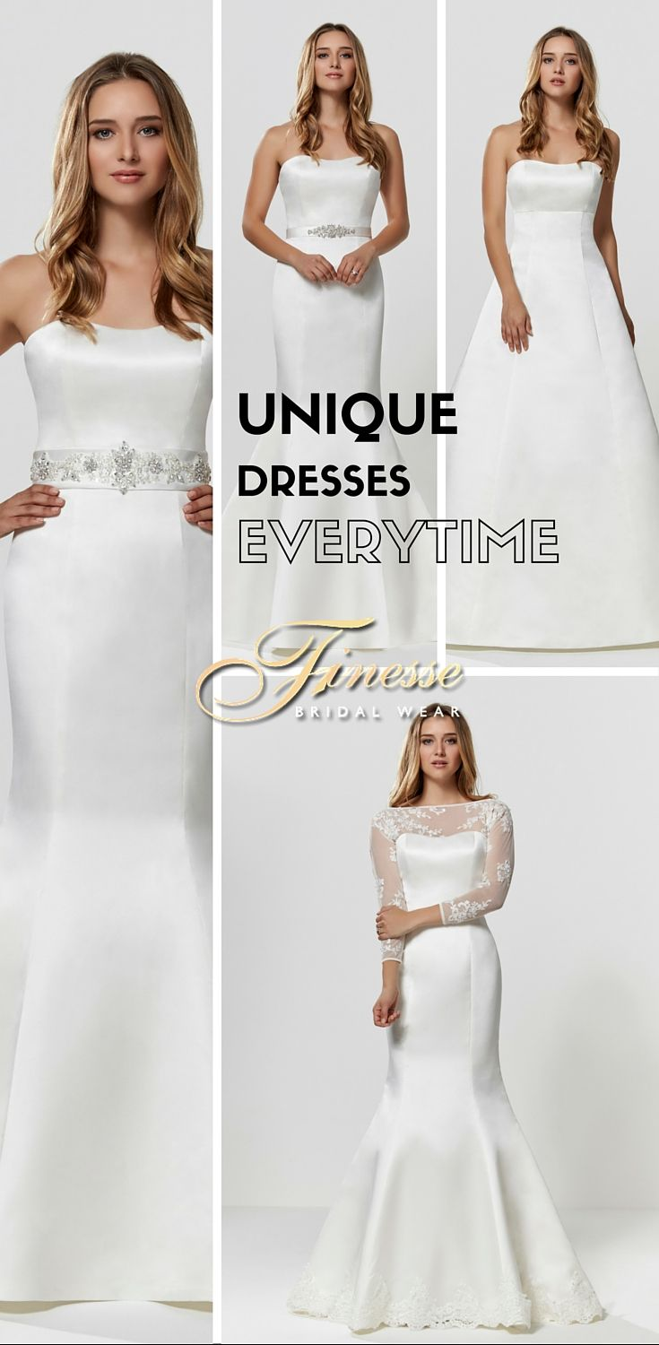 Create a Unique One Off Wedding Dress just for You #UniqueWeddingDress