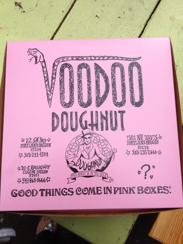 Voodoo Doughnut, Keep Portland weird! // Here's the info - anyone near this area please go check this place out!! (Courtesy of Chris Cooper!)