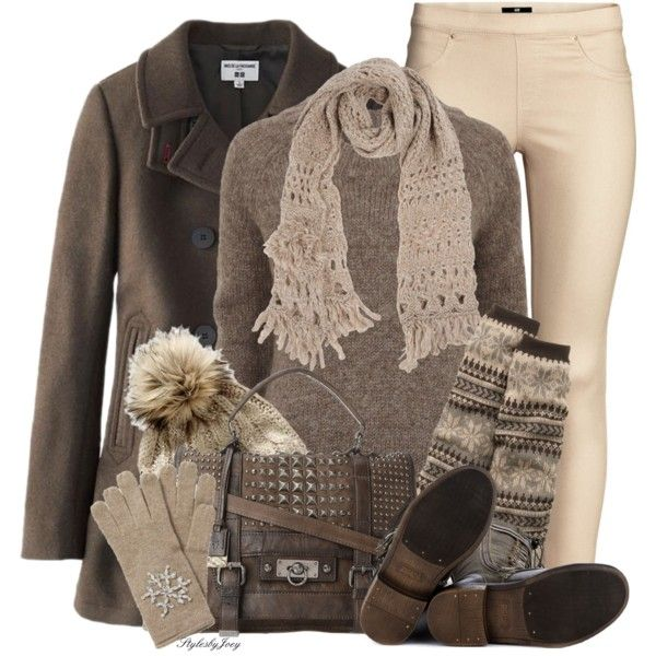 Ready, Set, Snow by stylesbyjoey on Polyvore featuring Object Collectors Item, Uniqlo, H&M, Old Navy, ZIGIgirl, Frye and Siste's