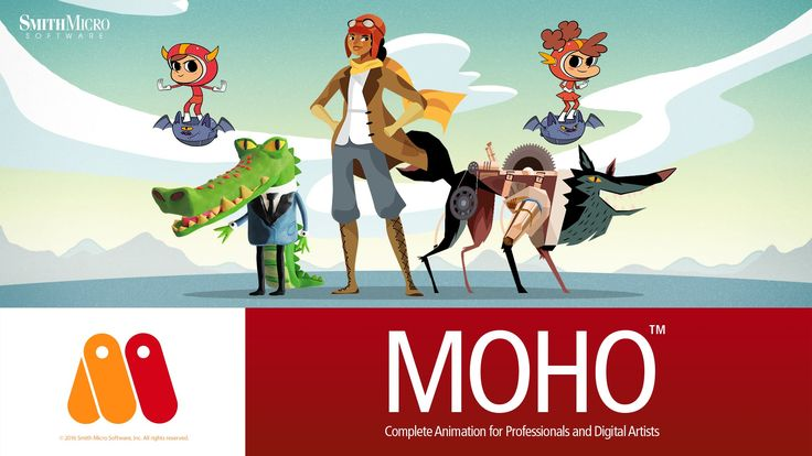 Moho 12 (Anime Studio) - Meet the New Characters