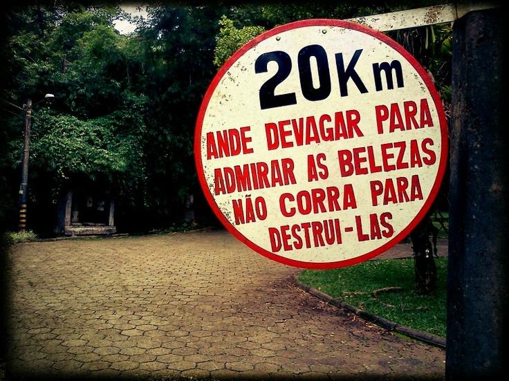 Keep calm e vá ao parque - Parque Malwee, Jaraguá do Sul SC