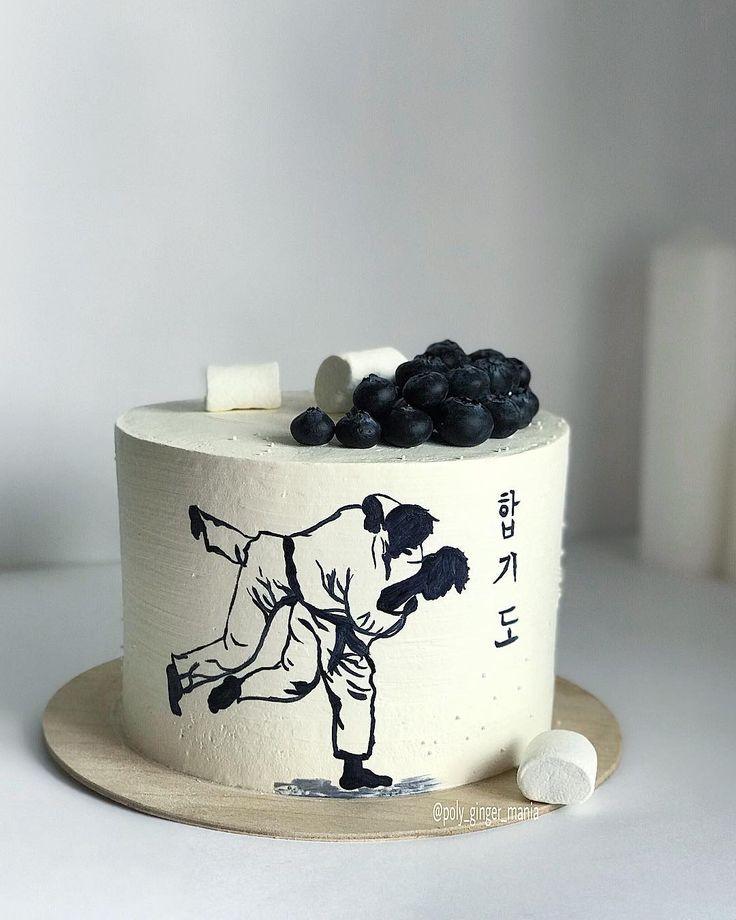 торт с рисунком каратэ просто анонс или
