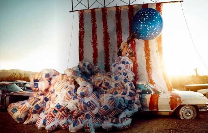 america?: Fashionmodel Photography, Flags, Dreams, Kristian Schuller, Dresses, Fashion Fantasy, Fashion Photography, Schuller Photography, Fashionphotography