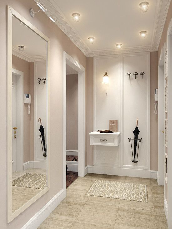 ENTRANCE AREA, BEIGE WHITE MINT, BIG MIRROR #beige…