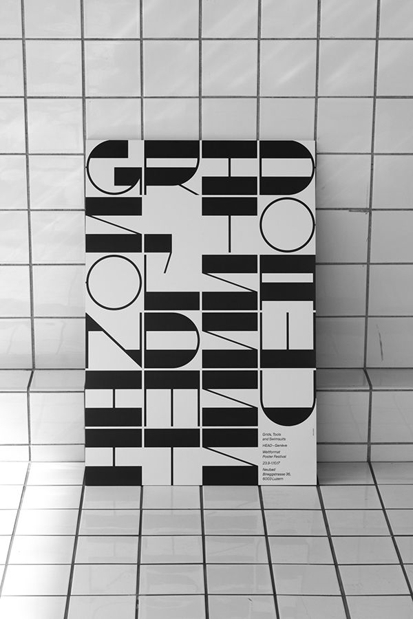 Poster - Grids, Tools and Swimsuits - Nº 2 (Weltformat) on Behance