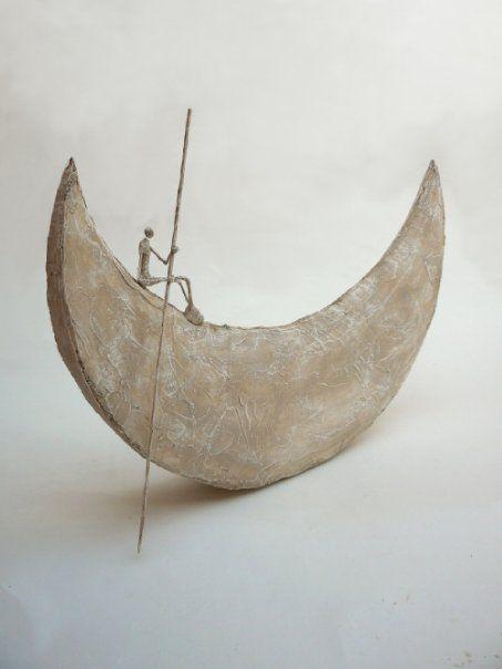 """""""Le contrôleur de nuit"""" (The night controller), 2010 - Sculpture by Antoine Jossé"""