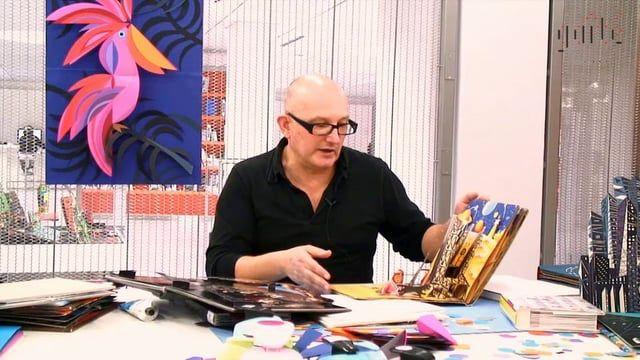 Créateur de livres animés, Philippe UG exposait ses créations au Centre de Ressources de la Gaîté Lyrique en novembre dernier, au cours de l'exposition « Pop-up et pixels ». Retour sur sa pratique prolifique à l'occasion d'une interview colorée... http://www.gaite-lyrique.net/magazine/philippe-ug-du-vecteur-au-cutter  Interview : Stéphanie Vidal Réalisation : Clément Bec-Karkamaz