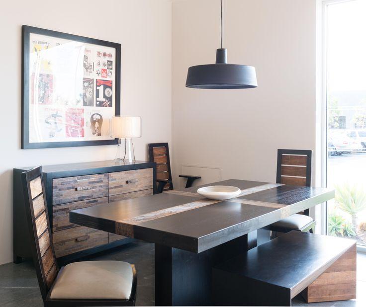 Recife Dining Table Ipanema Chairs Campos Bench Santomer 3 Dresser