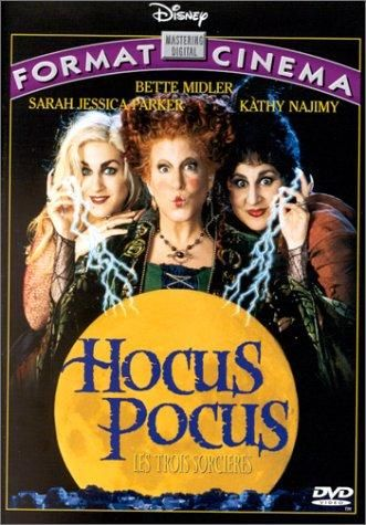 Directed by Kenny Ortega.  With Bette Midler, Sarah Jessica Parker, Kathy Najimy, Omri Katz. After three centuries, three witch sisters are resurrected in Salem Massachusetts on Halloween night, and it is up to two teen-agers, a young girl, and an immortal cat to put an end to the witches' reign of terror once and for all.